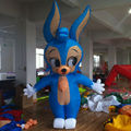 gigante inflable modelo de dibujos animados