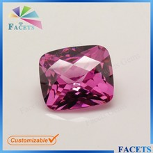 High Quality AAA Size 7*9mm Octagon Cut CZ Gems Loose Faceted Rose Gem Names Wholesale