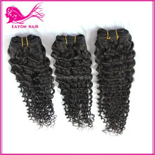 deep wave deep curl remy human hair 100% unprocessed virgin brazilian human hair deep wave hair extensions