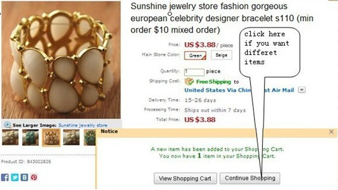Sunshine jewelry store fashion 1 card pearl earrings for women ( $10  )