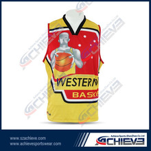 new design basketball jersey top quality wholesale sport wear for team
