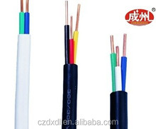 Copper conductor PVC insulated PVC sheathed round flexible connector wires
