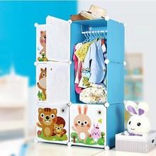 FH-AL0022-6K New cartoon design kids plastic toy storage rack sale as Christmas gift