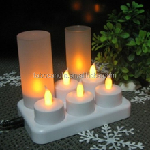 Decoration Ivory wedding candle for interior decoration