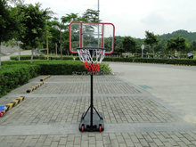 hot sale movable& height adjustable basketball backboard ring goal hoop set