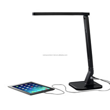 Rechargeable LED Desk Table Folding Lamp Light with USB Charger