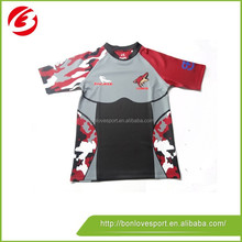 Custom made rugby jersey/ rugby football uniform/football jersey