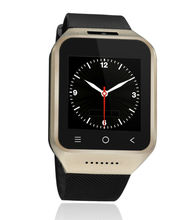 Custom watch with Android 4.4 system 3g wifi gold color smart watch mobile phone