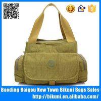 Wholesale online popular colorful nylon felt tote bag for women