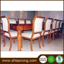 square dining room furniture restaurant wood dining table set TRDT-271