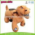 at0615 grande shopping passeio em brinquedos a pilhas de pelúcia dos animais cavalo cavalo dos desenhos animados