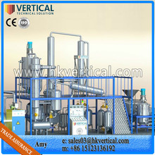 VTS-DP waste insulation oil purifier, used oil refinery chemical, black oil recycling machine