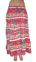 las mujeres falda larga último diseño