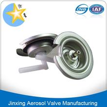 Verrouillable gas cap valve de pulvérisation