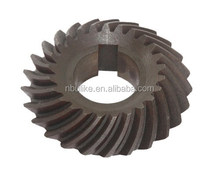 Customzied drewing spur gears, high performance sintered parts,automatic example of spur gear