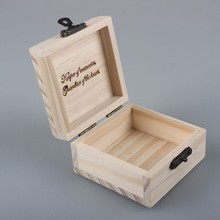 Cheap small wooden box wholesale for sale