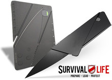 Foldable Wallet Credit Card Knife for Survival use