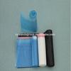 garbage blue plastic bags