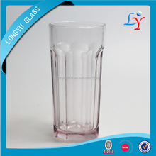 Home Goods Glassware Round Bottom Glass Cup Heat Resistant Glass Cup Fancy Glassware With Spray Color