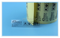 High quality transparent avery PET label sticker paper
