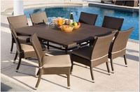 Hot sale Patio All Weather banquet chair and table