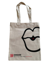 Wholesales Natrual White canvas shopping craft bags