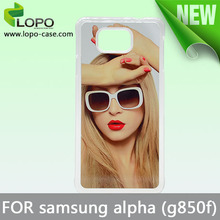 Sublimation PC case for Samsung Galaxy Alfa(G850F) from LOPO