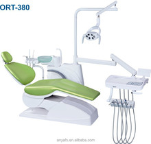 2015 new 3-Memory Program Dental Chair Unit with LED sensor lamp light cure ,CE