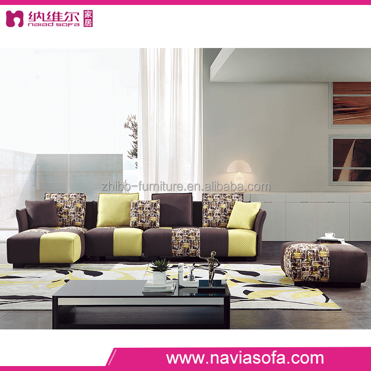 New design cheap modern bedroom l shaped sectional sofa furniture sets ...