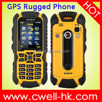 2.0 Inch IP67 Waterproof mobile phone low price Original SEALS VR7 GPS Rugged Phone with E-compass, JAVA