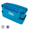easy lock pp double layer lunch box bag for keeping warm