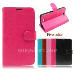 crazy horse leather case for samsung galaxy core i8260 i8262