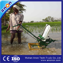 ANON big promotions 2015 hot sale 2 rows rice seeds planting machines