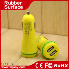 portable dual USB car charger cellular accessories high sales product made in china zhongshan