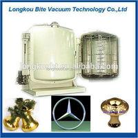 China manufacture Vertical Double Doors Shoe Heels /plastic car parts vacuum metallizing machine