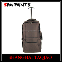 Soft trolley travel backpack bag with best quality