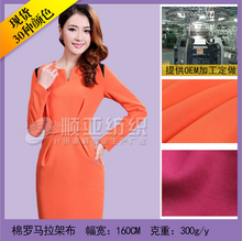 Roma Knitted Plain Dyed Cotton Fabric for garment