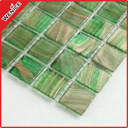 fashion hot melt full body glass art mosaic decoration tile