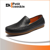Black men office shoe casual high class mens leather dress shoes