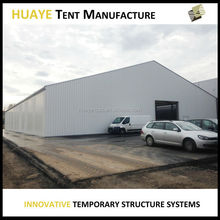 Factory price outdoor aluminum profile tent warehouse for industrial storage business