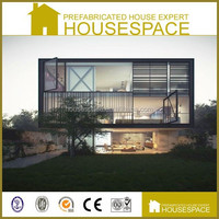 Newly Designed Luxury Glass Dubai Container House