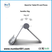 Aluminium alloy tablet stand for mobile Phone tablet pc