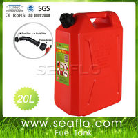 Oil Drum Jerrycan 20L 5.3 Gallon Plastic Motorcycle Fuel Tank For Boat Yatch Truck