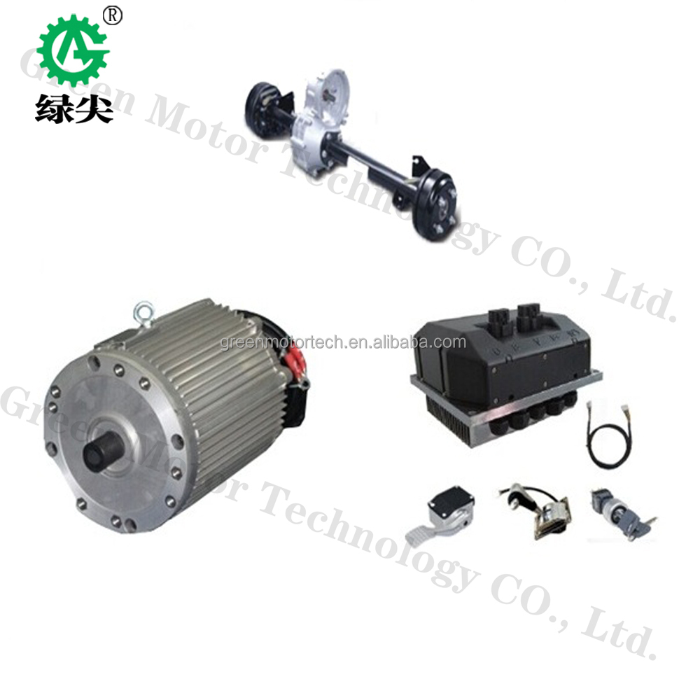 25kw Electric Car Motor Electric Car Wheel Motor For Sight