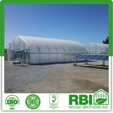 Double layer film greenhouse Plastic film greenhouse in winter multi span or single span for agriculture