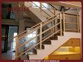 interior de aluminio de aleación de barandilla de la escalera