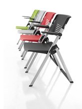 metal stacking chairs/training room chair and desk/classroom training chair