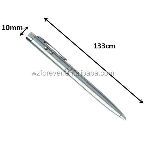 3 in 1 LED Light With Laser Pointer Pen