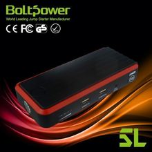 red and black 12000mah dual 5V USB power bank12000mah mobile power supply