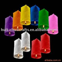 Party supplies Assorted color eco-friendly sky lantern